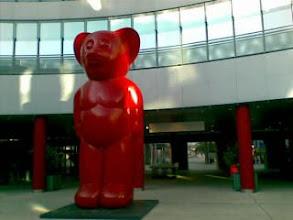 Photo: Un oso rojo se ha colado en el IFEMA!-Desde mi Nokia E61i