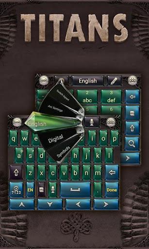 Titans GO Keyboard Theme