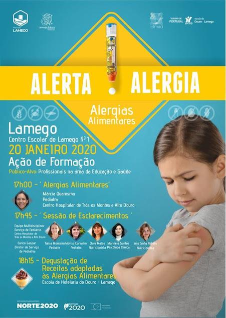 Município de Lamego promove formação dedicada às alergias alimentares