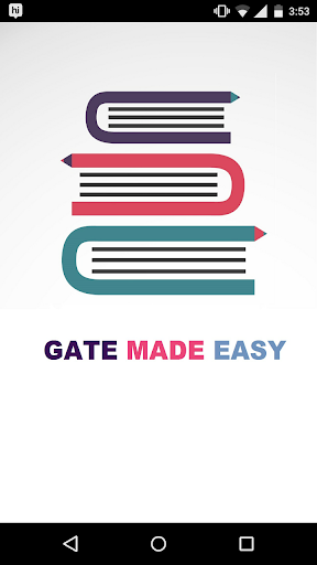 GATE MADE EASY