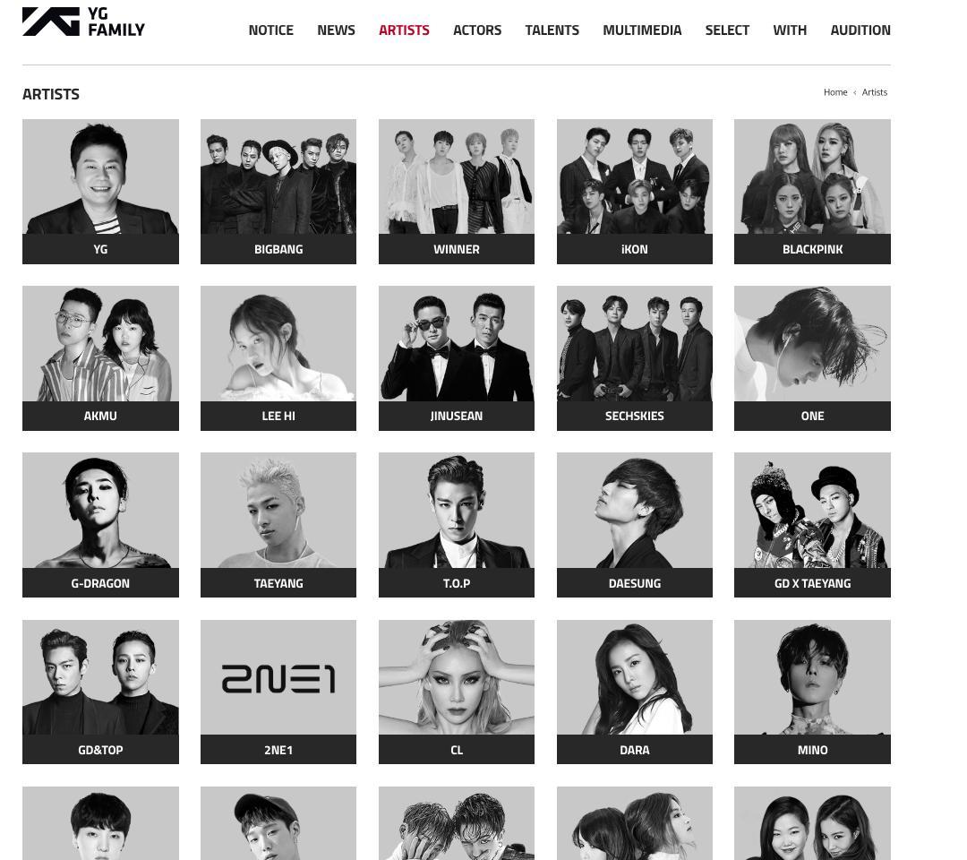 Big Bang, Seungri, iKON, B.I