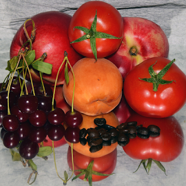fruits with tomatoes by LADOCKi Elvira - Food & Drink Fruits & Vegetables