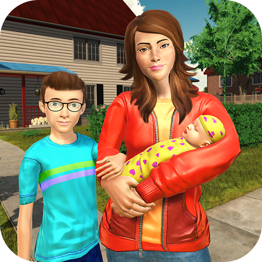 Download Virtual Sister Happy Mom Newborn Baby Family Game