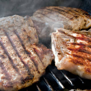Grilled Lemongrass-Five Spice Pork Chops (Thit Heo Nuong Vi).