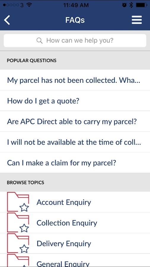APC Direct- screenshot