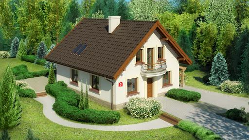 projekt Dom przy Pomarańczowej 3