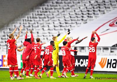 Un joueur de l'Antwerp dans l'équipe-type de l'Europa League