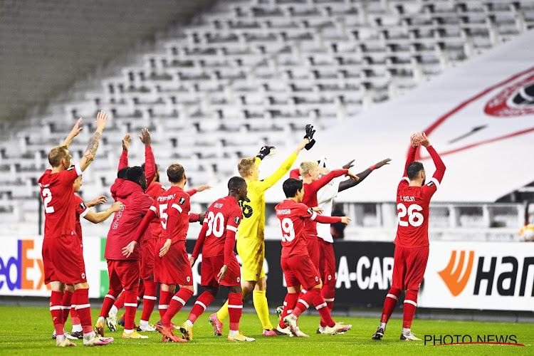 Antwerp houdt vette kluif over aan 6 op 6 in Europa maar komt niet in de buurt van Club Brugge