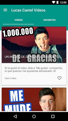Lucas Castel Youtuber Videos