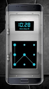 Screen Lock with Accurate Tme and Location - náhled