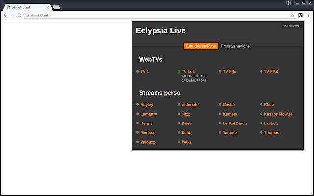 Eclypsia Live