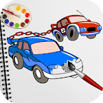 Chained Cars Coloring Book Ultimate Coloring Pages Icon