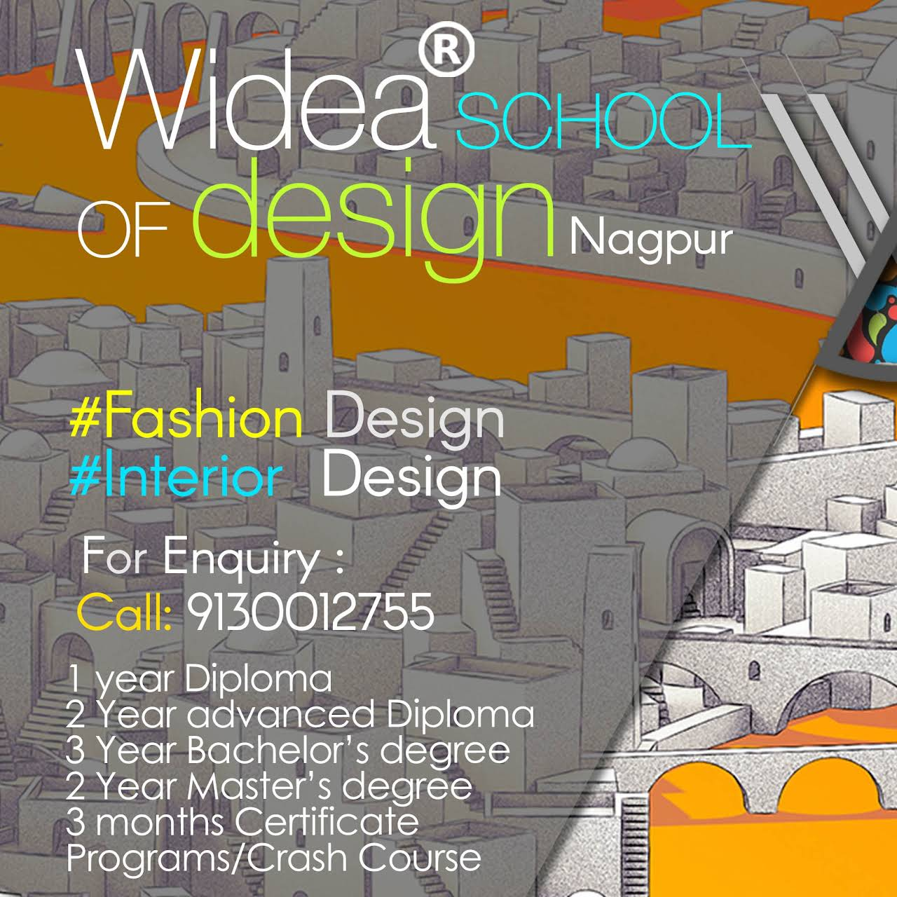 WIDEA SCHOOL OF DESIGN Fashion Designing Interior