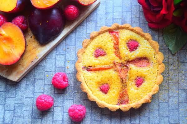 Plum & Raspberry Tart Recipe