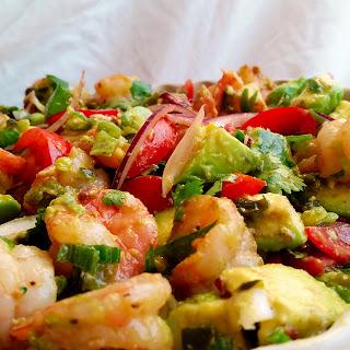 Shrimp and Avocado Salad