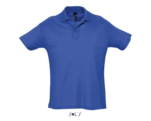 polo bleu royale
