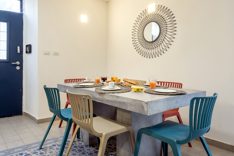 Dining space at Yehoash