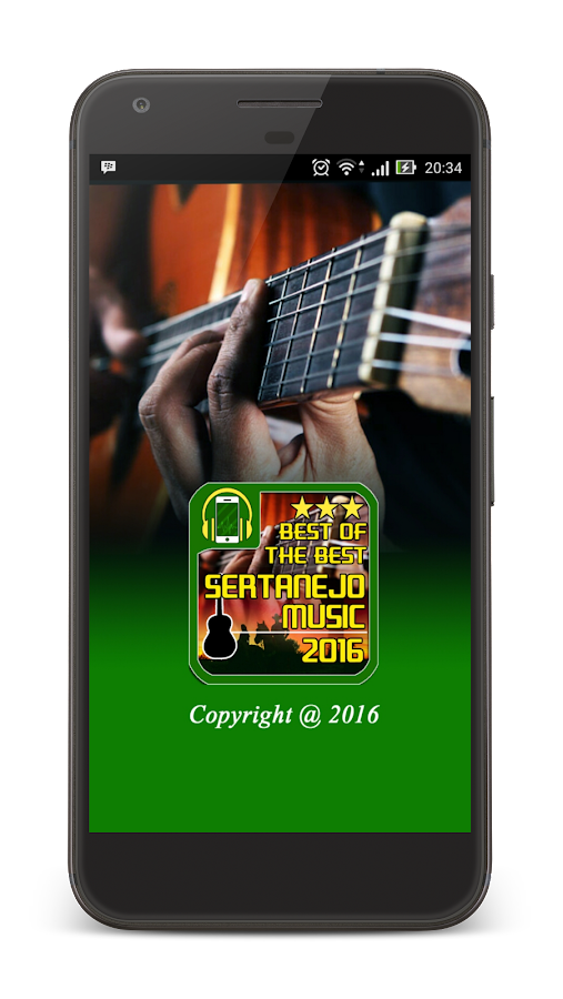 Sertanejo Music Best Top 2016- screenshot