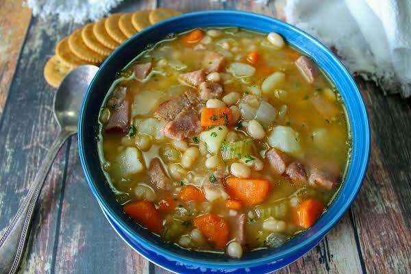 Crazy Old Bag Lady's Bean & Ham Soup Recipe