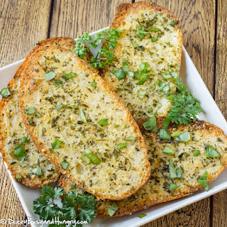 Quick Parmesan Garlic Bread.
