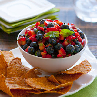 Zesty Blueberry & Strawberry Salsa