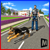 Police Dog City Crime Chase Android APK Download Free By MAS 3D STUDIO - Racing And Climbing Games