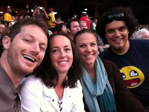 Photo: Friends at U2 360 Anaheim