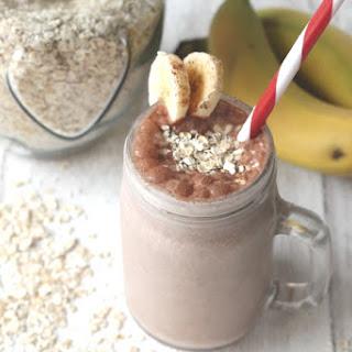 Choco Banana Breakfast Smoothie Recipe