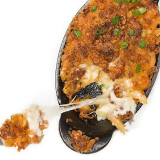 Crawfish Macaroni and Cheese.