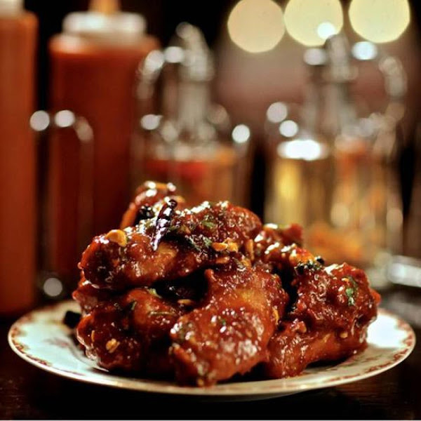 Kung Pao Chicken Wings Recipe