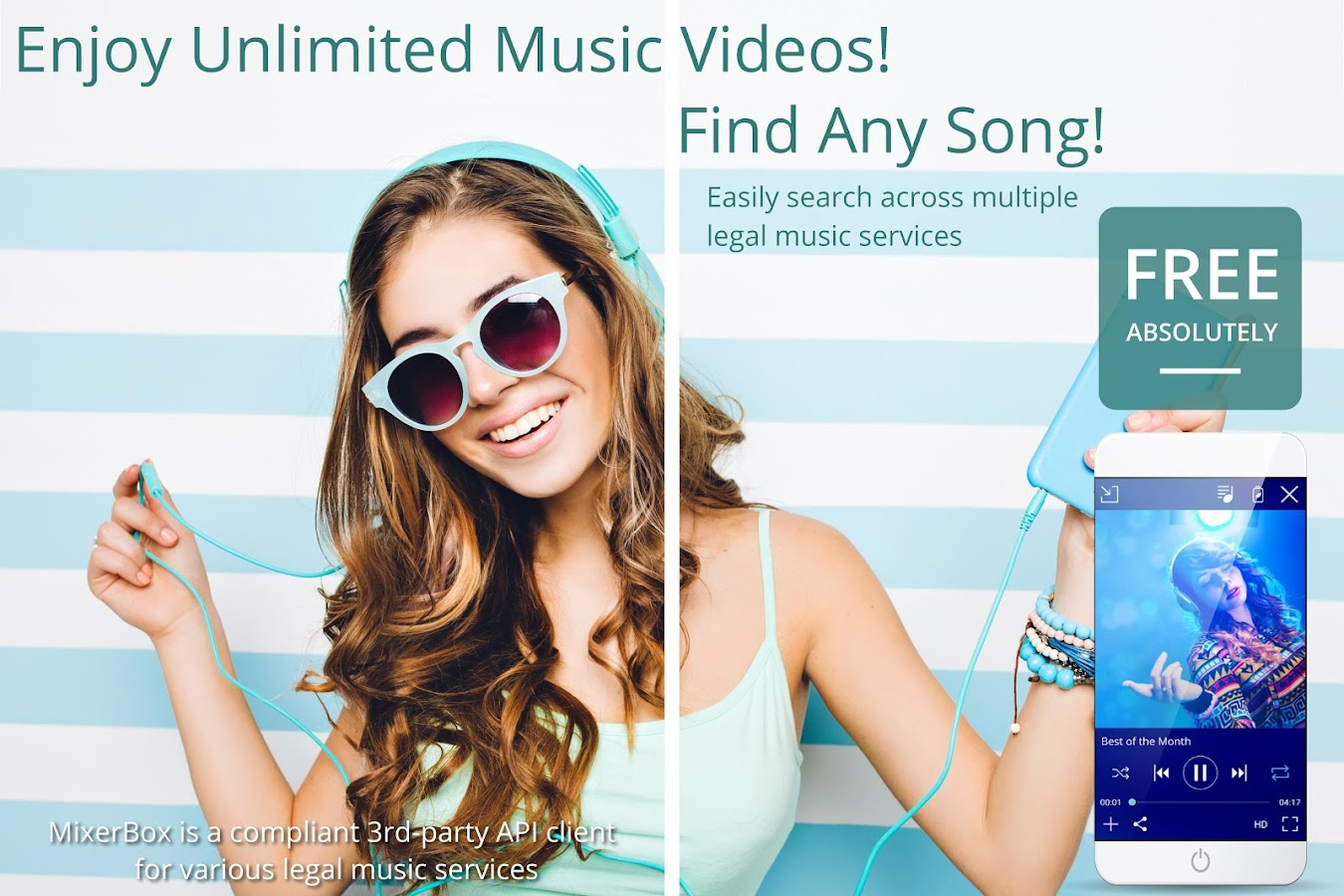 Free Music MP3 Player (Download)- screenshot