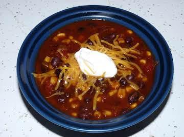 Crockpot Black Bean Stew