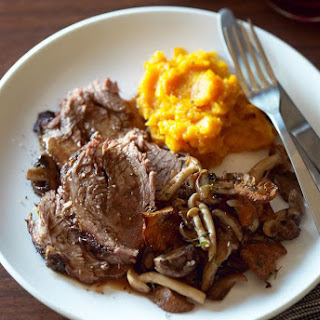 Slow Cooker Beef Pot Roast With Sour Cream Sauce.