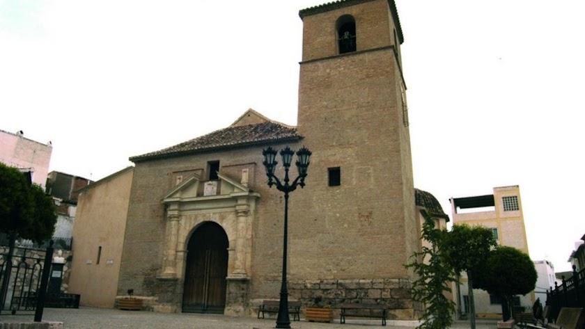 Iglesia de Tíjola.