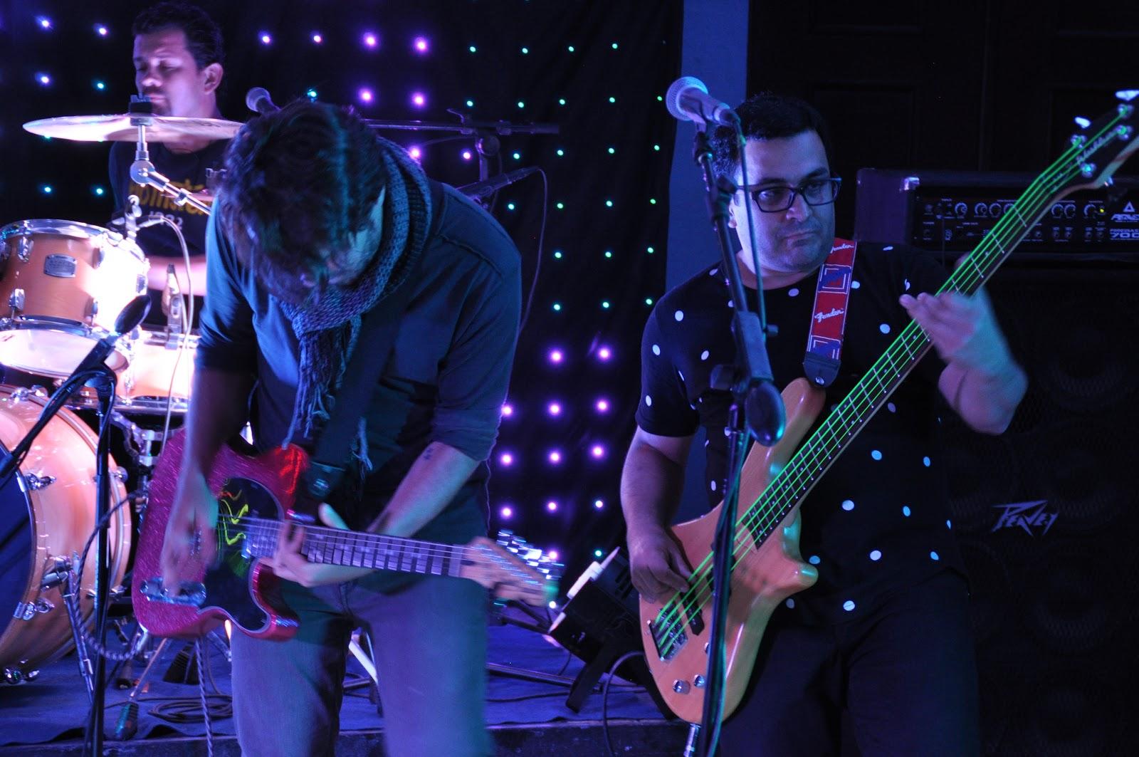 """Esteban Mata y Edgar """"Wina"""" Carranza, parte de la agrupación Zona. Carranza es uno de los organizadores de este Festival(Foto: OCM)"""