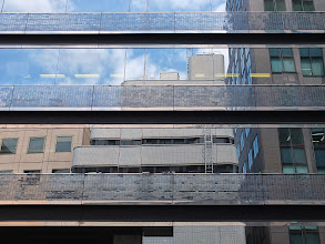 Photo: May 11, 2012 - Reflections in reflections, in..