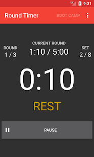 Round Timer - náhled