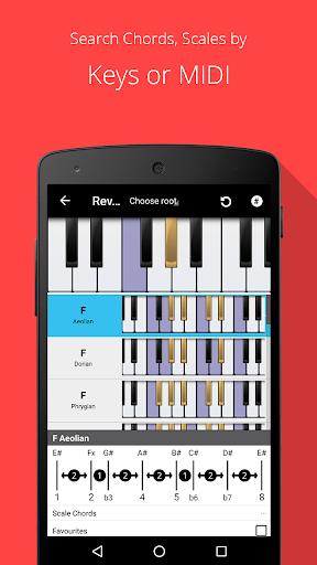 Piano Chord, Scale, Progression Companion 6.40.1102 screenshots 2