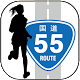 国道マラソン【マラソン計測アプリ】