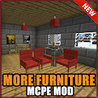 More Furniture Mod Minecraft icon