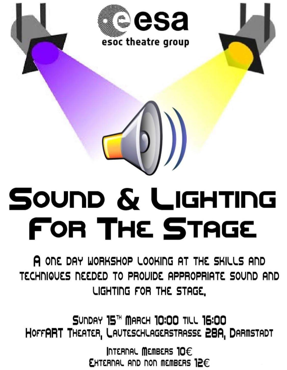 Sound and Lighting 2020