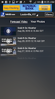 Screenshot of WAVE 3 Louisville Weather