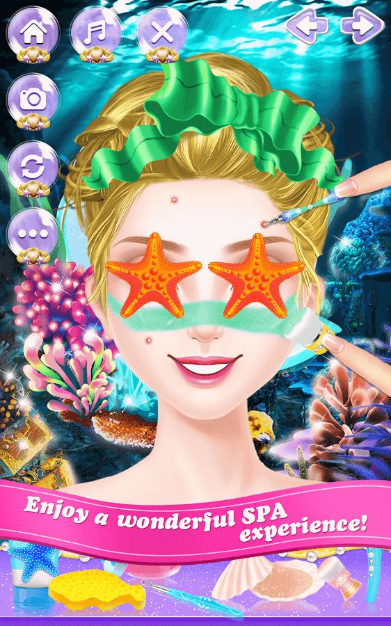 Mermaid-Princess-Beauty-Salon 22