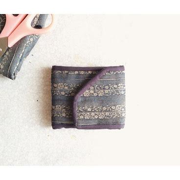銀包系列👛 🎑和風併布🎑 首度推出摺疊式銀包,大家喜歡嗎?😛 96265492📞 #AC小手作 #hkmade