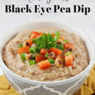 New Years Black Eye Pea Dip