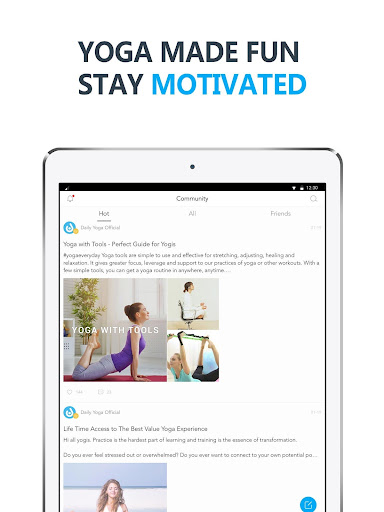 Daily Yoga - Yoga Fitness App Screenshot