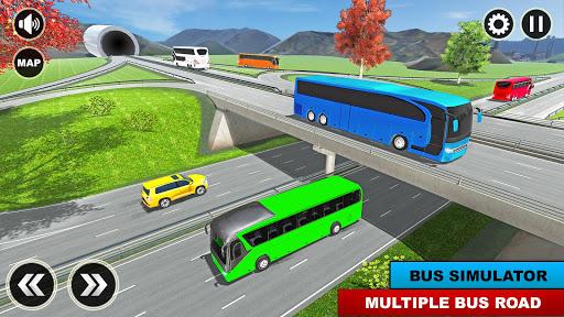 City Passenger Coach Bus Simulator: Bus Driving 3D apkpoly screenshots 8