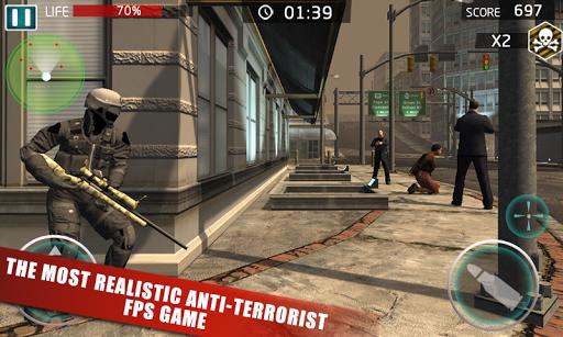 SWAT Crime Sniper