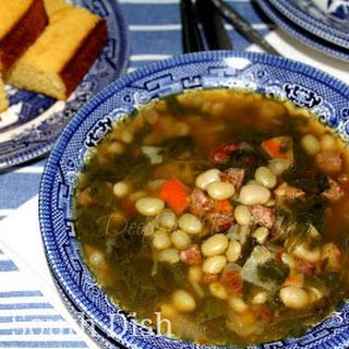 Turnip Green Soup aka Swamp Soup