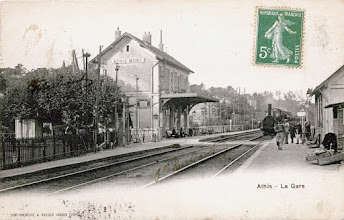 Photo: Athis - La Gare - SIMI-BROMURE A. BREGER FRÈRES (DÉPOSÉ)